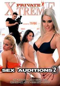 Private X Treme - Sex Auditions #02 Front Cover, Adult Superstore Discount DVD's